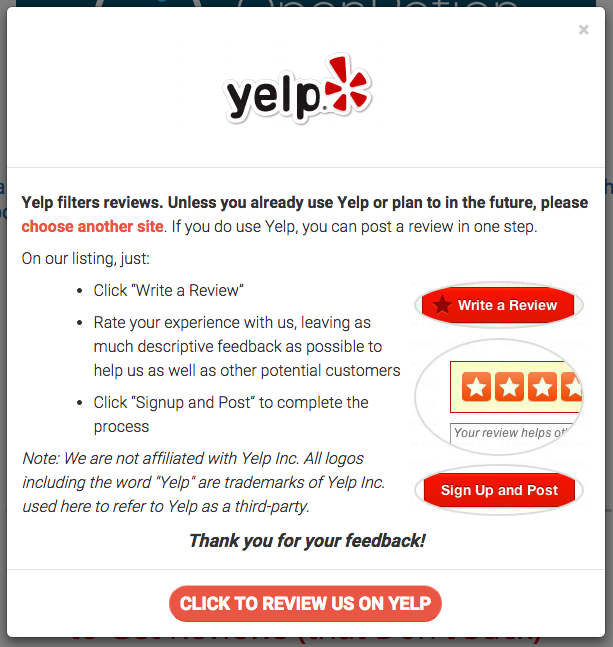 yelp-directions